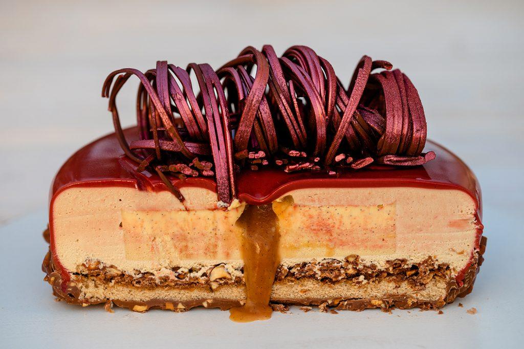 Insertie Caramel Crème Brulee Cake